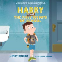 Harry Versus the First 100 Days of School Cover