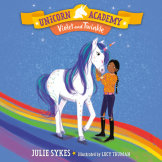 Unicorn Academy #11: Violet and Twinkle cover small