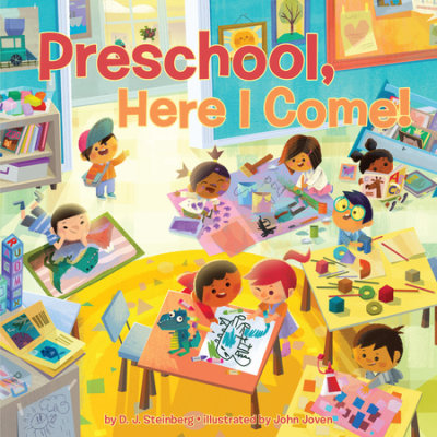 Preschool, Here I Come! cover
