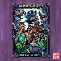 Night of the Bats! (Minecraft Woodsword Chronicles #2) Cover