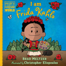 I Am Frida Kahlo Cover