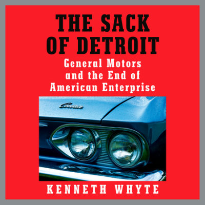 The Sack of Detroit cover