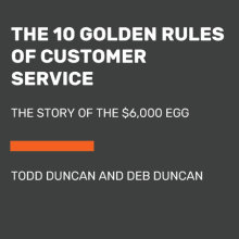 The 10 Golden Rules of Customer Service Cover