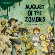 August of the Zombies Cover