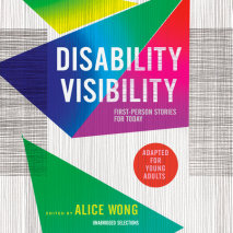 Disability Visibility (Adapted for Young Adults) Cover