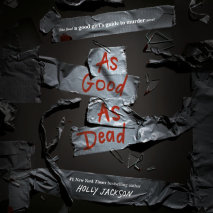 As Good as Dead Cover