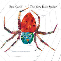 The Very Busy Spider Cover