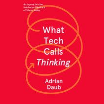 What Tech Calls Thinking Cover