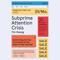 Subprime Attention Crisis Cover