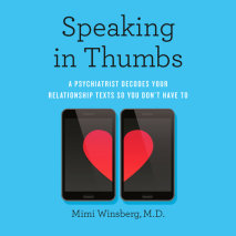 Speaking In Thumbs Cover