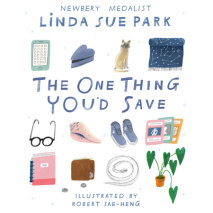 The One Thing You'd Save Cover