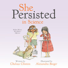 She Persisted in Science Cover