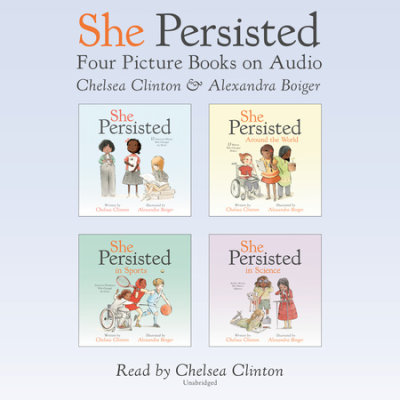 She Persisted: Four Picture Books on Audio cover