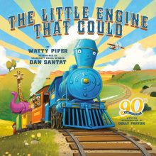 The Little Engine That Could: 90th Anniversary Edition Cover
