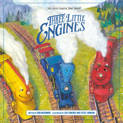 Three Little Engines cover