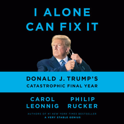 I Alone Can Fix It cover