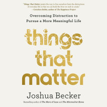 Things That Matter Cover