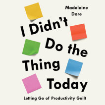 I Didn't Do the Thing Today Cover