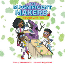The Magnificent Makers #4: The Great Germ Hunt Cover