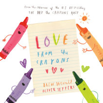 Love from the Crayons Cover