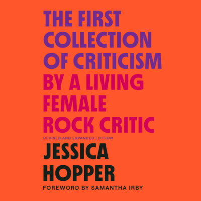 The First Collection of Criticism by a Living Female Rock Critic cover