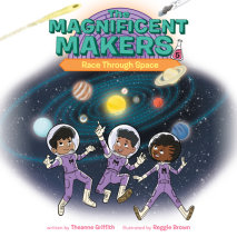 The Magnificent Makers #5: Race Through Space Cover