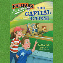 Ballpark Mysteries #13: The Capital Catch Cover