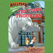 Ballpark Mysteries #11: The Tiger Troubles Cover