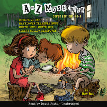 A to Z Mysteries Super Editions #1-4 Cover