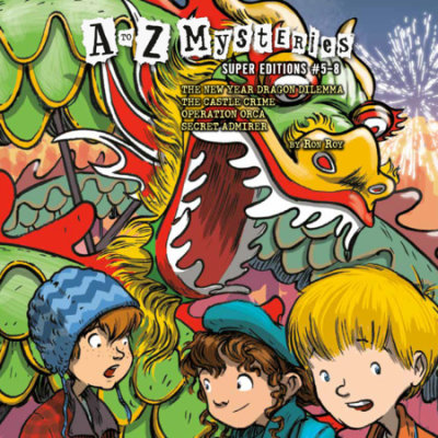 A to Z Mysteries Super Editions #5-8 cover