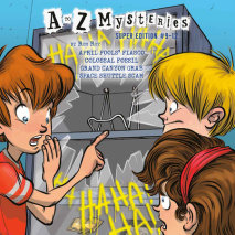 A to Z Mysteries Super Editions #9-12 Cover