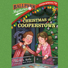 Ballpark Mysteries Super Special #2: Christmas in Cooperstown Cover