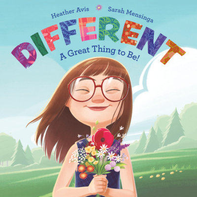 Different--A Great Thing to Be! cover