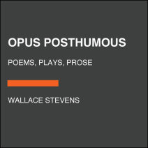 Opus Posthumous Cover