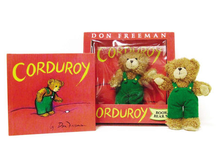 Corduroy Book and Bear by Don Freeman