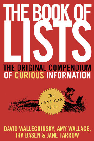 The Book of Lists, The Canadian Edition