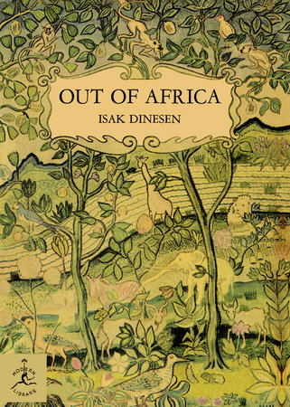 Out of Africa Book Cover Picture
