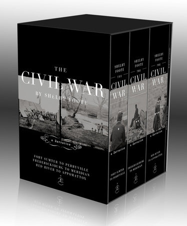The Civil War Trilogy Box Set by Shelby Foote