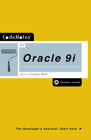 CodeNotes for Oracle 9i by