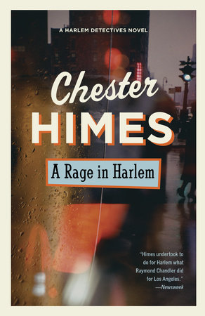 The cover of the book A Rage in Harlem