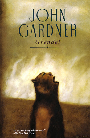 The cover of the book Grendel