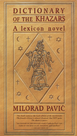 The cover of the book Dictionary of the Khazars (M)