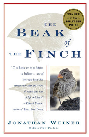 The Beak of the Finch Book Cover Picture
