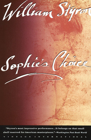 SOPHIE'S CHOICE Book Cover Picture