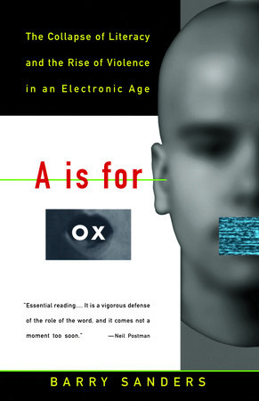 A Is for Ox by Barry Sanders