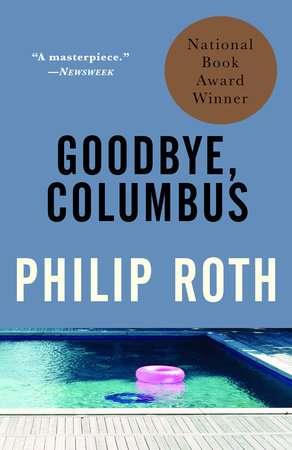 The cover of the book Goodbye, Columbus