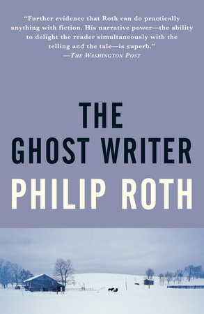The cover of the book The Ghost Writer