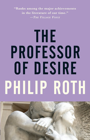 The cover of the book The Professor of Desire