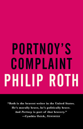 The cover of the book Portnoy's Complaint