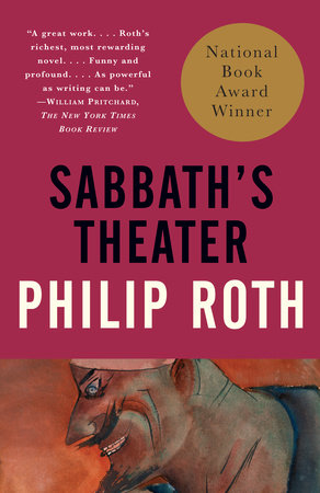 The cover of the book Sabbath's Theater